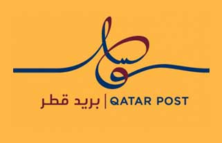 Qatar post logo